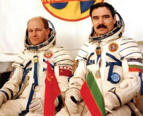 Георги Иванов и Николай Рукавишников