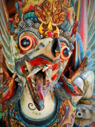 Баронг - същество и герой, наподобяващ пантера в балийската митология на Бали, Индонезия.