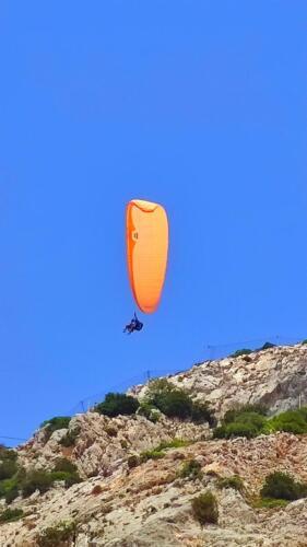Полет с парапланер над Миртос