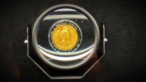 Златна монета от Марцианопол