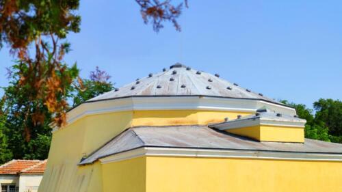 Капладжа хамам, изграден от султан Сюлейман